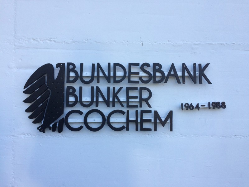 Bundesbank Bunker Cochem 1964 - 1988<br>German Central Bank Bunker Cochem 1964 - 1988