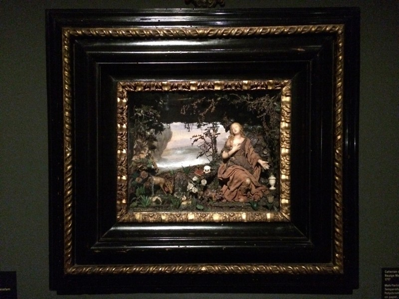 Caterian de Julianis - Reuige Magdalene 1717 - mehrfarbiges Wachs, bemaltes papier uaM : Polychrome wax, wax aom