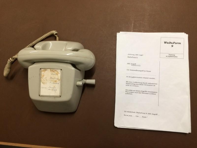 Die Schaltzentrale - WaDuForm Warndurchführungsformular<br>Control center - a special form
