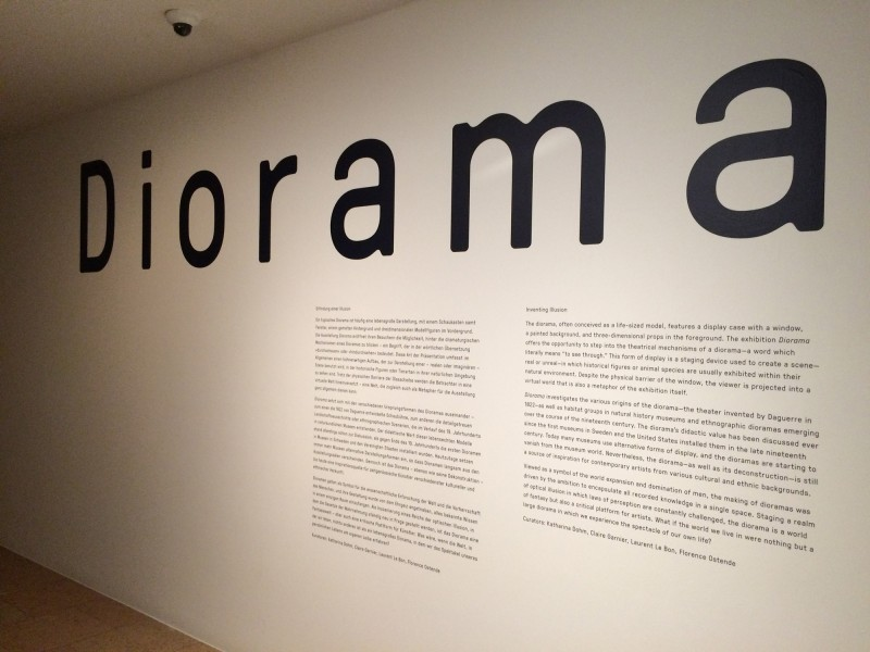 Diorama Schirn Kunsthalle Frankfurt am Main