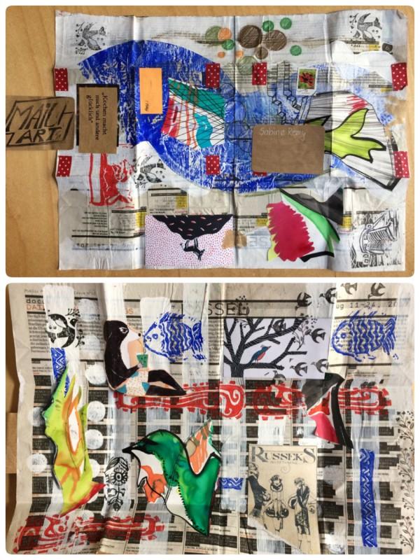 Lilantje Lilantje - D - Mail Art  Oktober 2017
