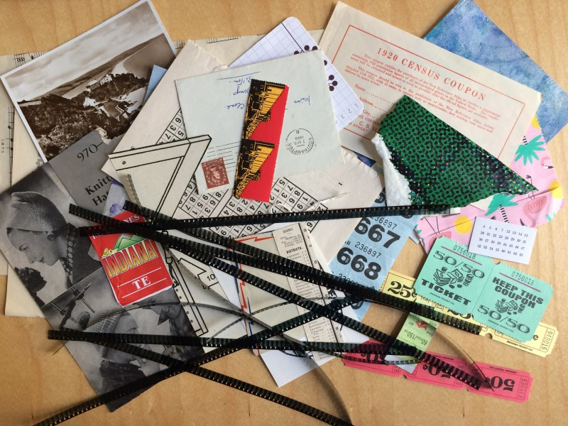 Heather Harker - UK - Collage Material exchange November 2017