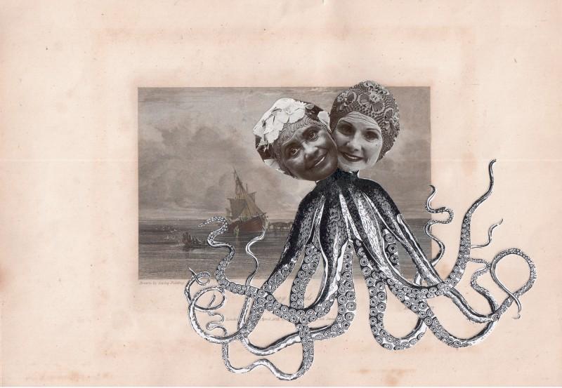 Gestrandet April 1831 / Stranded April 1831