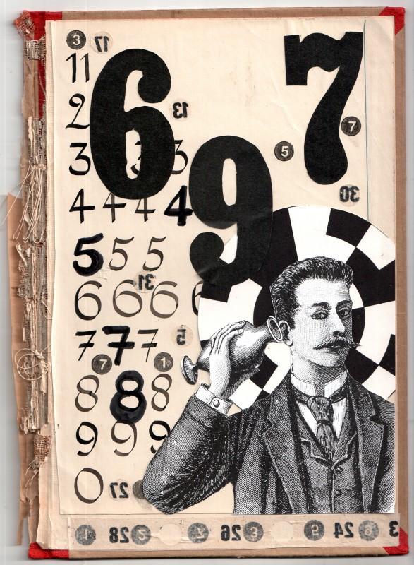 Der Numerologe - The Numerologist - 23,1 x 16,7 cm - 2018