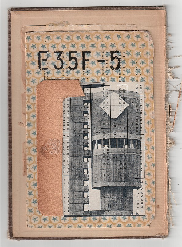E35F-5 - Collage on board - 22 x 15,5 cm – 2018