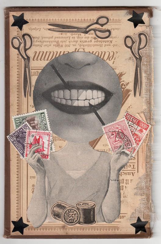 I am a mail artist - 2018 - 18,1 x 11,7 cm
