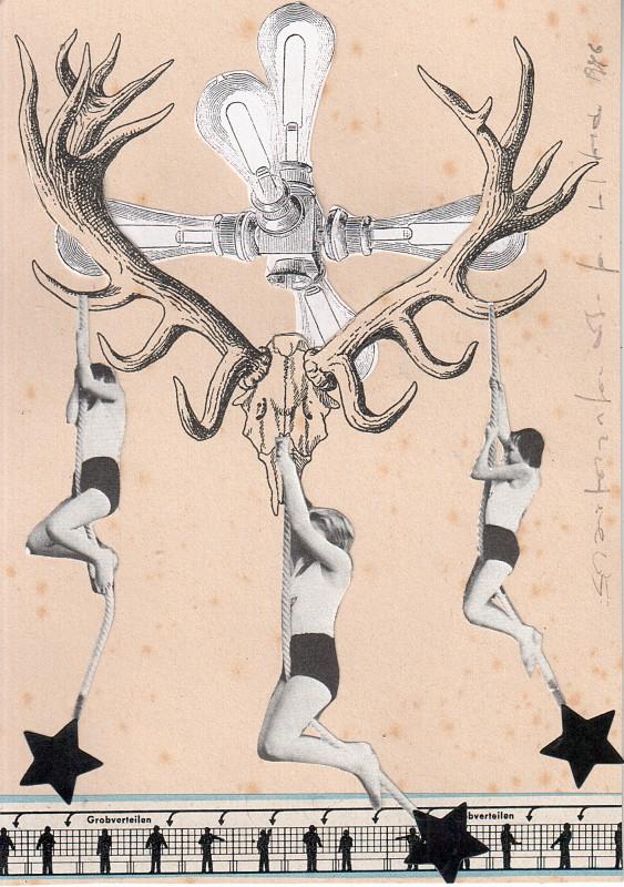 Kronleuchter / Candelabra - 2018 - 14,8 x 10,5 cm