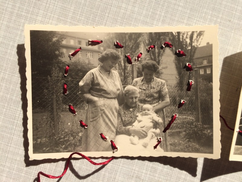 Her life was full of love - What is the red thread of YOUR life - to Reina Huges 1