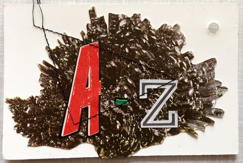 Mineralogisches Alphabet A - Z Cover