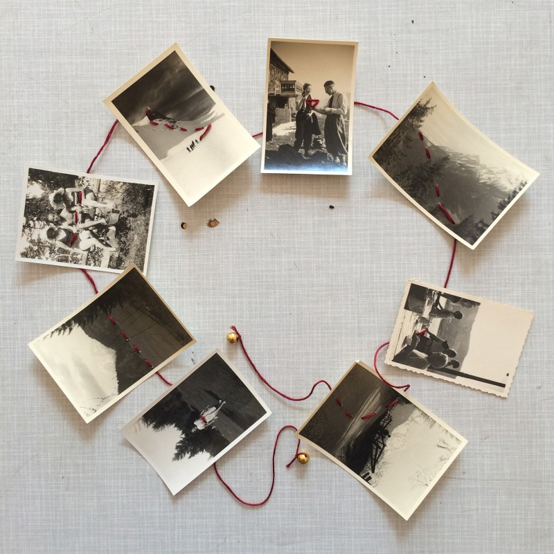 What is the read thread of your life - Mail Art to Dawn Nelson Wardrope