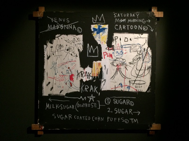 Basquiat A panel of experts 1982 at Schirn FFM Boom for real