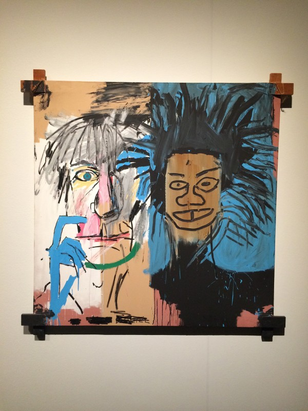 Basquiat Dos Cabezas 1982 at Schirn FFM Boom for real