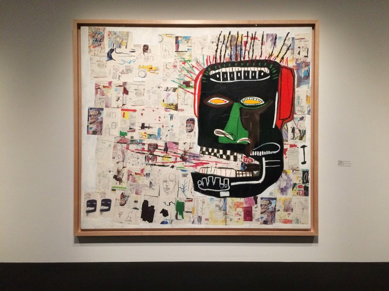 Basquiat GLENN1984 at Schirn FFM Boom for real