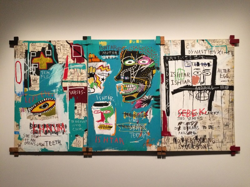 Basquiat ISHTAR1983 at Schirn FFM Boom for real