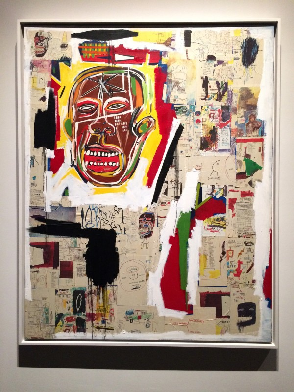 Basquiat King of the Zulus 1984-85 at Schirn FFM Boom for real