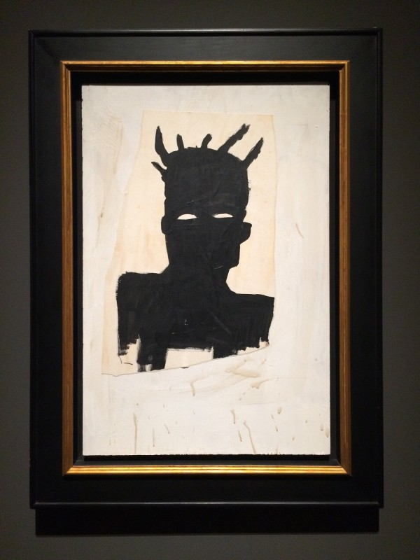 Basquiat Self-Portrait 1983 at Schirn FFM Boom for real