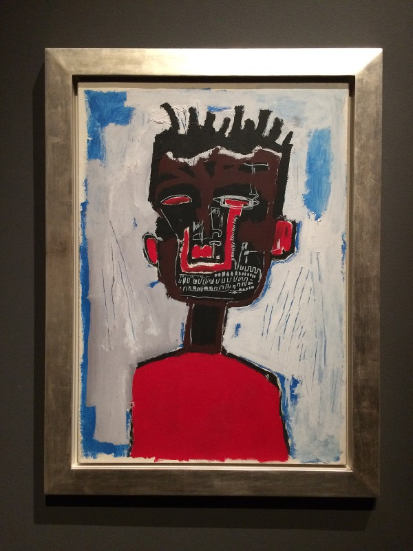 Basquiat Self-Portrait 1984 at Schirn FFM Boom for real