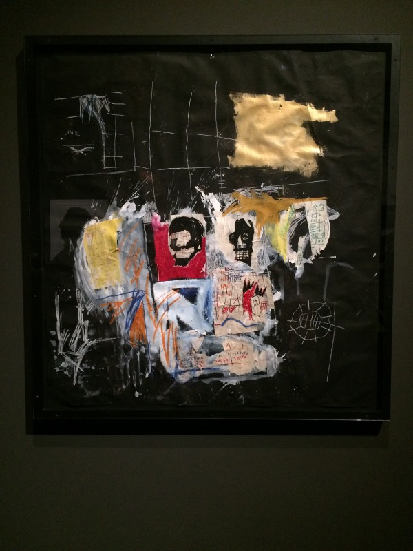 Basquiat Untitled (Black) 1981 at Schirn FFM Boom for real