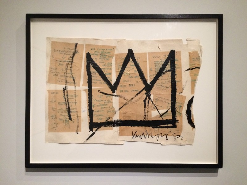 Basquiat untitled (Crown)1982 at Schirn FFM Boom for real