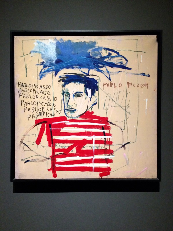 Basquiat untitled (Pablo Picasso)1984 at Schirn FFM Boom for real