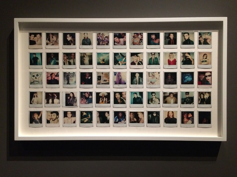 MARIPOL SX-70 Polaroids 1979 - 84 at Schirn FFM - Boom for real - Basquiat