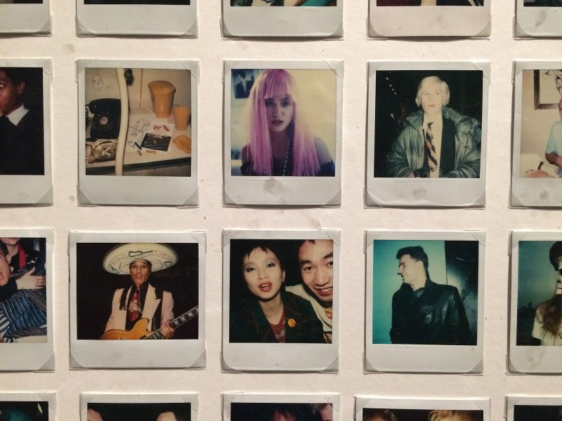 Part of MARIPOL SX-70 Polaroids 1979 - 84 at Schirn FFM - Boom for real - Basquiat