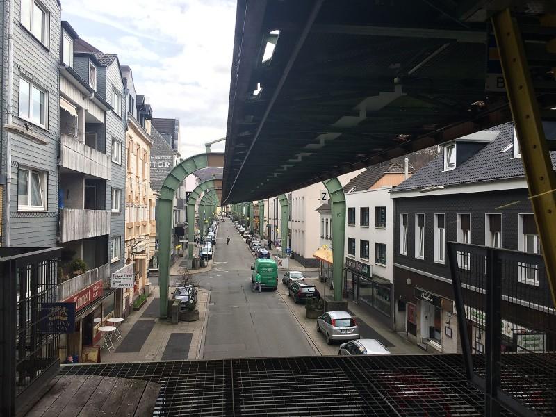 Schwebebahn Wuppertal - los geht´s