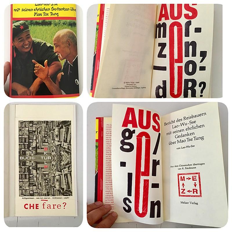 Edition Janus Ausgelesen was nun was tun ausMERZen, oder