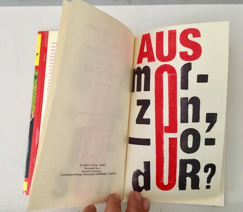 Edition Janus ausMERZen oder