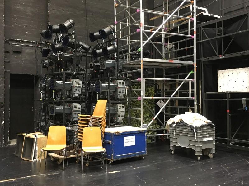 Führung Opernhaus Düsseldorf  2018 Backstage