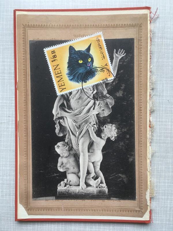 16 v 22 Postcards and Stamps