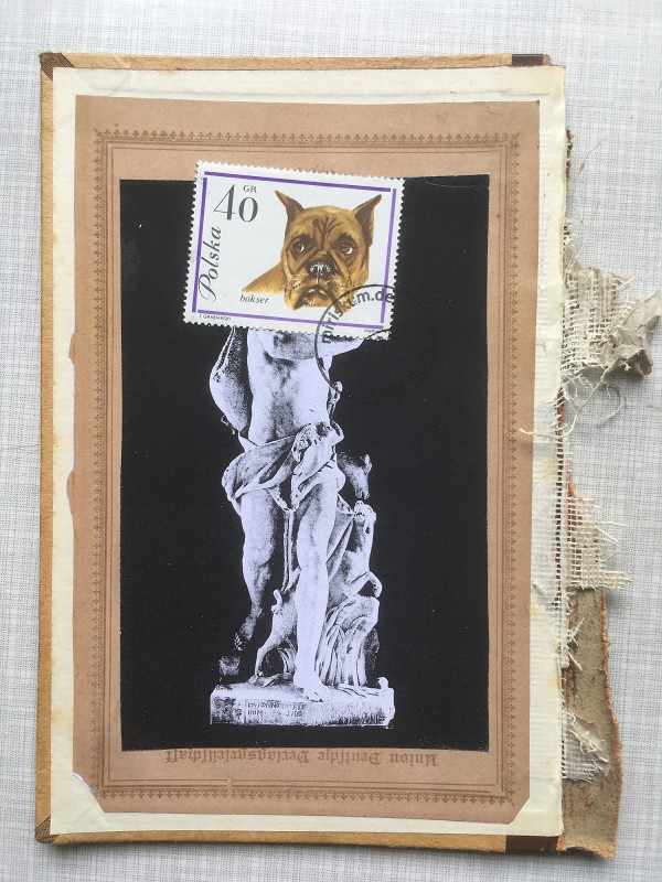 2 v 22 Postcards and Stamps