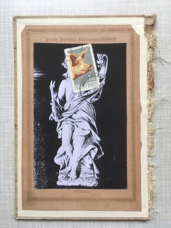 5 v 22 Postcards and Stamps