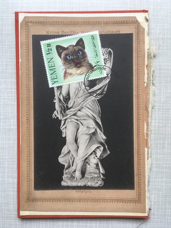 6 v 22 Postcards and Stamps