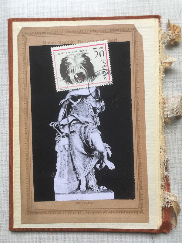 7 v 22 Postcards and Stamps