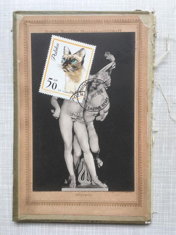 9 v 22 Postcards and Stamps