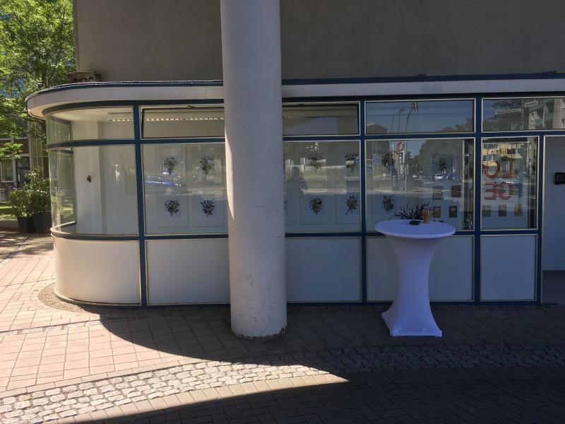 Buchcollagen - Ausstellung Kuenstlerloge Ratingen
