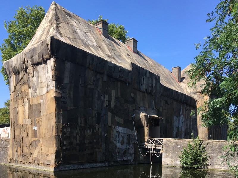 Emschertal Museum Herne Schloss Struenkede Ibrahim Mahama Coal Market