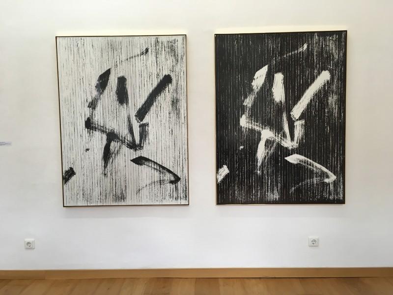 Gregor Hildebrandt - you dont turn to run ...  (Malaria) - 2018 im Kunstmuseum Gelsenkirchen