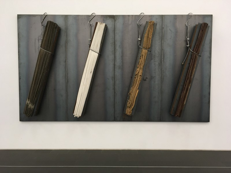 Jannis Kounellis - ohne Titel - untitled 1999 - im Museum Küppersmühle 2018