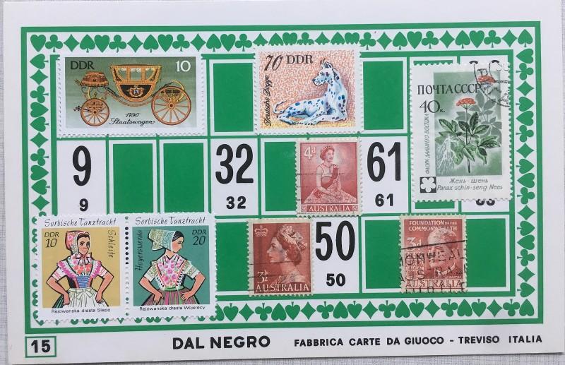 Mail Art Bingo No15 of 40 for KART assembling magazine running by David Dellafiora