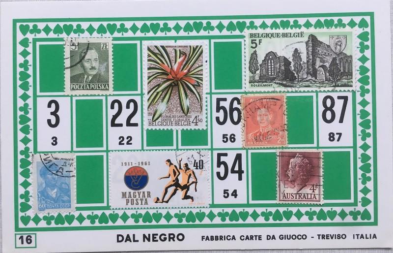 Mail Art Bingo No16 of 40 for KART assembling magazine running by David Dellafiora