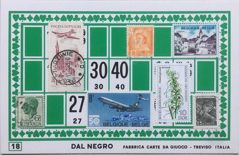Mail Art Bingo No18 of 40 for KART assembling magazine running by David Dellafiora