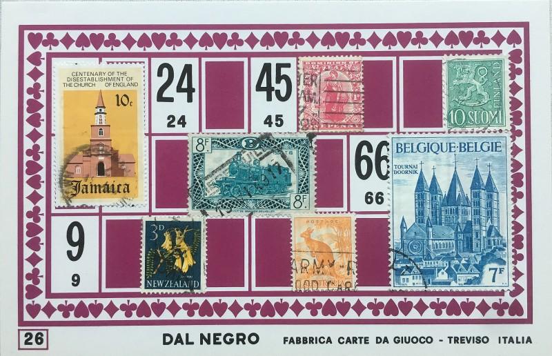 Mail Art Bingo No26 of 40 for KART assembling magazine running by David Dellafiora
