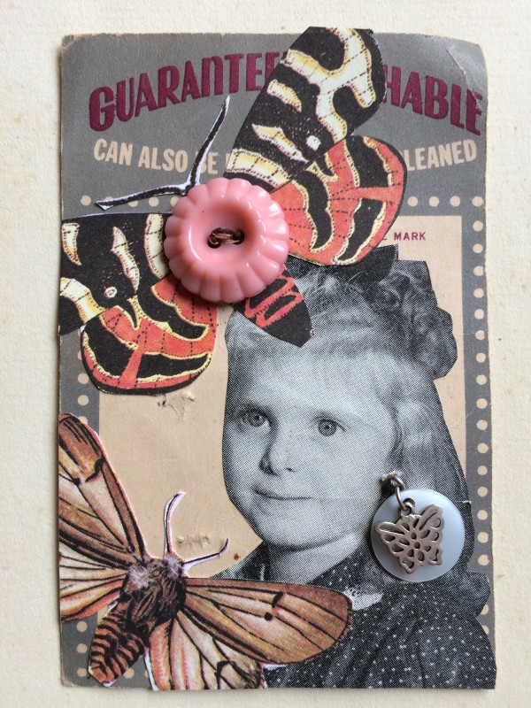 No96 - 6 - A Set of  Eight Vintage Button Cards Lynn Skordal and Sabine Remy 2018