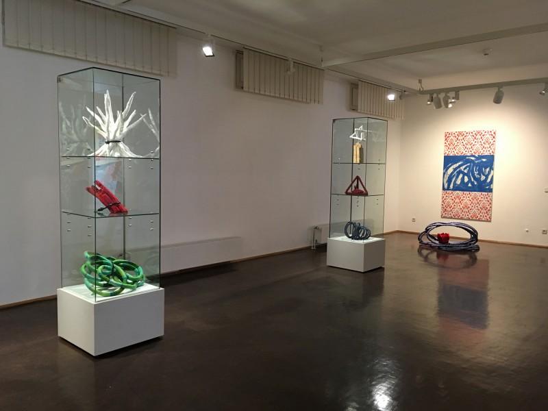 Henning Eichinger und Yvonne Kendall - Coming Full Circle - im Wilhelm-Fabry-Museum Hilden - Raum 3