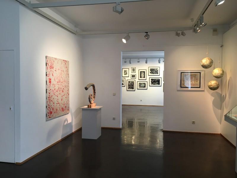 Henning Eichinger und Yvonne Kendall - Coming Full Circle - Wilhelm-Fabry-Museum Hilden - Raum 1
