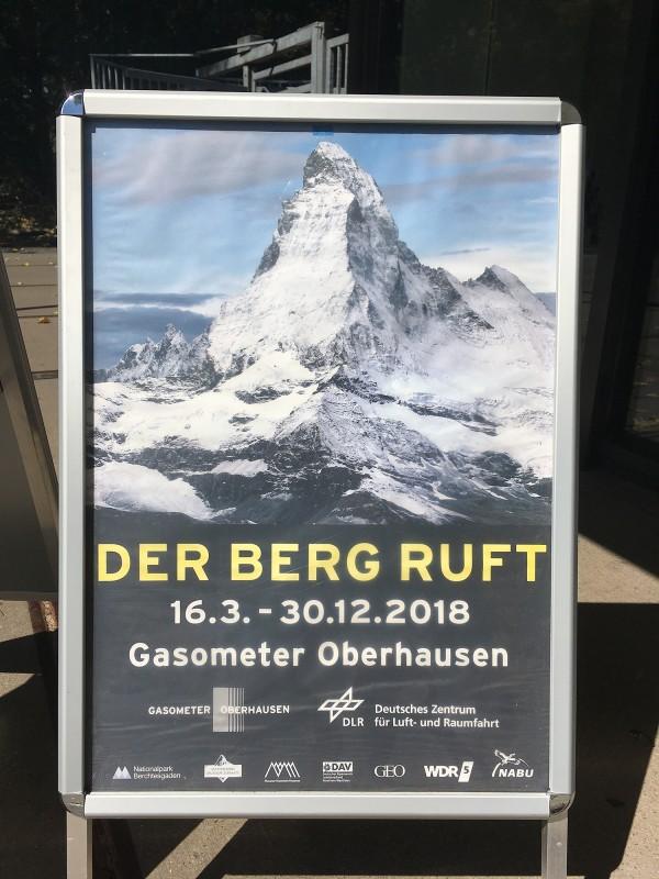 Der Berg ruft - Ausstellungsplakat
