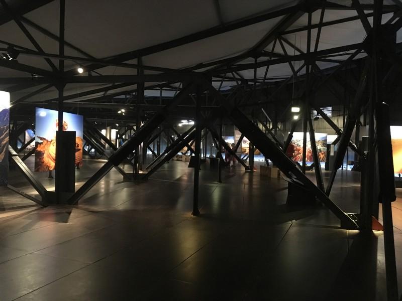 Der Berg ruft - Foto-Ausstellungsbereich - Photo exhibition area