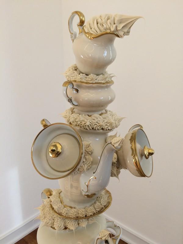 Anke Eilergerhardt - ANNABETH. oder ANNASTASIA. - Werkzyklus ANNAS - 2018 - Detail - at Museum Morsbroich - Leverkusen - Der flexible Plan 2018